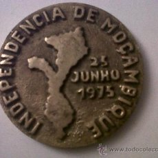 Medallas históricas: MEDALLA INDEPENDENCIA DE MOÇAMBIQUE-MOZAMBIQUE-1975-ASSOCIACIO DOS EMPLEGADOS BANCO MOÇAMBIQUE-BEIRA. Lote 31834998