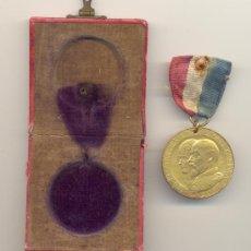 Medallas históricas: 1902 MUY BONITA MEDALLA CORONACIÓN EDUARDO VII INGLATERRA EN CAJA ORIGINAL. Lote 32635907