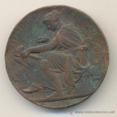 Medallas históricas: 1889 EXPOSICIÓN UNIVERSAL PARIS ADMINISTRACIÓN DE MONEDAS Y MEDALLAS MINISTERIO FINANZAS 50 MM.. Lote 32811765