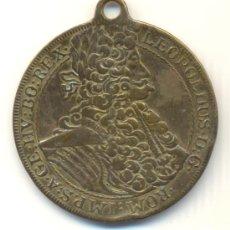Medallas históricas: BONITA MEDALLA AUSTRIA TIPO THALER LEOPOLDO I 1695 A CLASIFICAR. 40 MM.. Lote 32838702