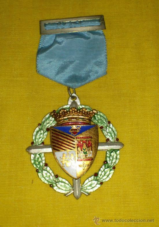 ANTIGUA MEDALLA LAUREADA COLEGIO PORTACELI DE SEVILLA (Numismática - Medallería - Histórica)