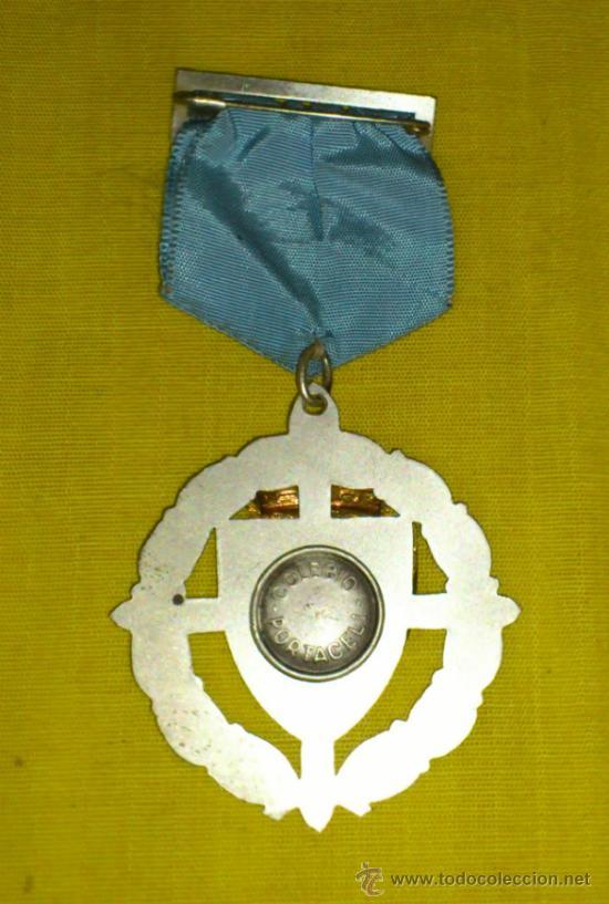 Medallas históricas: ANTIGUA MEDALLA LAUREADA COLEGIO PORTACELI DE SEVILLA - Foto 2 - 33555101