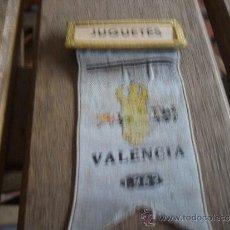 Medallas históricas: PREMIO ,MEDALLA , O INSIGNIA DE LA 1ª FERIA DEL JUGUETE DE VALENCIA FEBRERO MARZO 1962. Lote 34093408