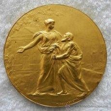 Medallas históricas: MEDALLA 1907 PARIS, EXPOSICION INTERNACIONAL DE LA UNION FILANTROPICA, COCINA, ALIMENTACION, HIGIENE. Lote 34312217