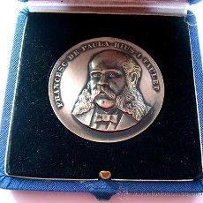 Medallas históricas: MEDALLA. FRANCESC DE PAULA RIUS I TAULET . 1969. Lote 35762336
