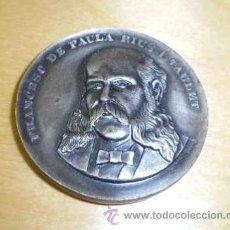 Medallas históricas: MEDALLA DE FRANCESC DE PAULA RIUS I TAULET BARCELONA 1969. Lote 36509002