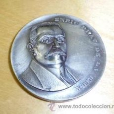 Medallas históricas: MEDALLA DE ENRIC PRAT DE LA RIBA - INSTITUT D, ESTUDIS CATALANS BARCELONA 1972. Lote 36509018