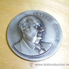 Medallas históricas: MEDALLA DE CARLES BUIGAS EL MAGIC DE LA LLUM OCTUBRE DE 1971 . Lote 36509039