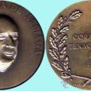 Medallas históricas: ESPAÑA 1978.- J. SANTANA - GENERAL KAULZA DE ARRIAGA. REV. CORAGEM TENACIDADE E FE. EN BRONCE. Lote 37287575