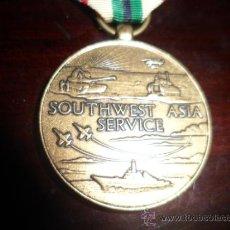 Medallas históricas: MEDALLA SOUTHWEST ASIA SERVICE - USA. Lote 40202613