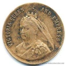 Medallas históricas: ANTIGUA MEDALLA DE LA REINA VICTORIA. INGLATERRA. Lote 38038496