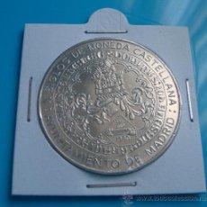 Medallas históricas: MEDALLA DE PLATA AYUNTAMIENTO DE MADRID, X SIGLOS DE MONEDA CASTELLANA, 1980. Lote 38038716
