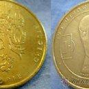 Medallas históricas: MEDALLA MONEDA DE REPUBLICA CHECA SEGUNDA GUERRA MUNDIAL. Lote 38491556