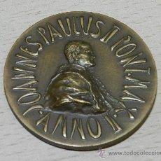 Medallas históricas: ANTIGUA MEDALLA DE REDEMPTOR HOMINIS , JOHANNES PAULUS II , ANNO II , VATICAN, MIDE 44 MM. BRONCE.. Lote 38807245