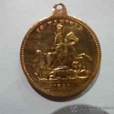 Medallas históricas: MEDALLA PRE CORONACIÓN DE LA REINA VICTORIA . AÑO 1830. LEER.. Lote 34361562