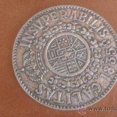 Medallas históricas: EN ALUMINIO INSUPERABILIS 1835 CALITAS. Lote 39161233