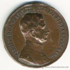 Medallas históricas: MEDALLA CARLOS I DE AUSTRIA O CARLOS IV DE HUNGRIA. : MEDALLA MILITAR DE LA PRIMERA GUERRA MUNDIAL.. Lote 39223270