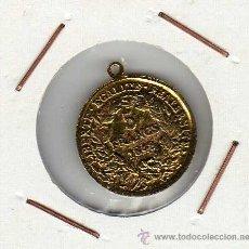 Medallas históricas: PEQUEÑA MEDALLA EN LATÓN IMITANDO MONEDA DE 5 FRANCS 1849 FRANCIA . . Lote 39815040