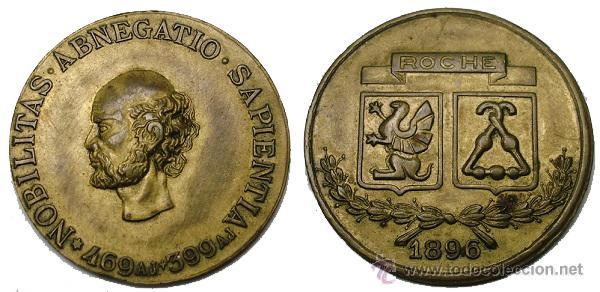 MEDALLA ALEMANA (ROCHE) AÑO 1896 (Numismática - Medallería - Histórica)
