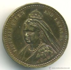 Medallas históricas: INGLATERRA. MEDALLA DE LA REINA VICTORIA . Lote 41354107