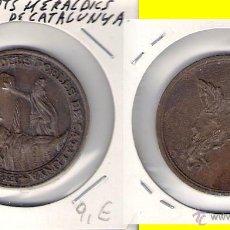 Medallas históricas: ELS ESCUTS HERALDISC DELS POBLES DE CATALUNYA. (C270).. Lote 28710027