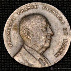 Medallas históricas: MEDALLÓN FRANCISCO FRANCO. Lote 41870815