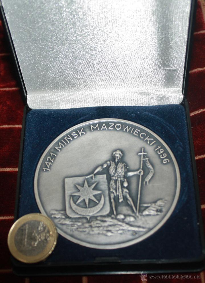 MEDALLA CONMEMORATIVA DE MINSK (Numismática - Medallería - Histórica)
