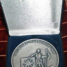 Medallas históricas: MEDALLA CONMEMORATIVA DE MINSK. Lote 42890163