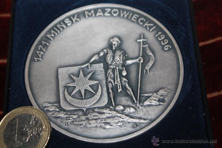 Medallas históricas: MEDALLA CONMEMORATIVA DE MINSK - Foto 3 - 42890163