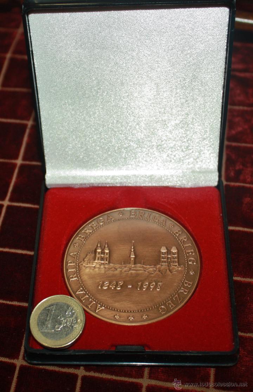 MEDALLA CONMEMORATIVA DE BREGA-BREGI-BREG (Numismática - Medallería - Histórica)
