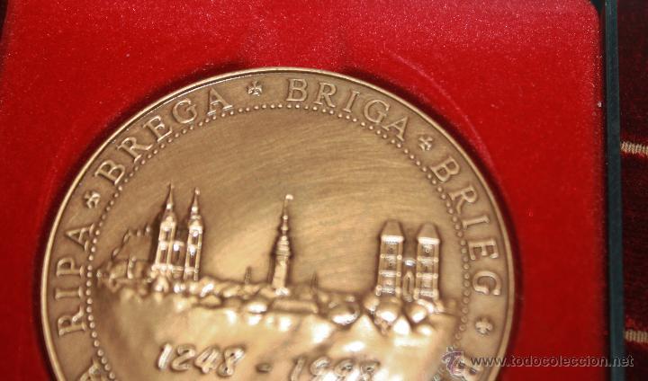 Medallas históricas: MEDALLA CONMEMORATIVA DE BREGA-BREGI-BREG - Foto 2 - 42890195