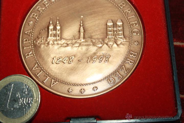 Medallas históricas: MEDALLA CONMEMORATIVA DE BREGA-BREGI-BREG - Foto 3 - 42890195