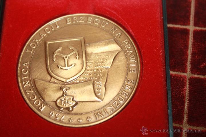 Medallas históricas: MEDALLA CONMEMORATIVA DE BREGA-BREGI-BREG - Foto 4 - 42890195