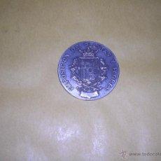 Medallas históricas: MEDALLA S. XIX EXPOSICION DE PLANTAS Y FLORES FOMENTO NACIONAL DE LA HORTICULTURA BARCELONA 4,5 CM. . Lote 42974463