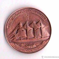 Medallas históricas: MARINA ESPAÑOLA,MEDALLA AÑO 1996 BUQUE ESCUELA JUAN SEBASTIAN EL CANO,SALON NAUTICO,ARMADA-MARINERO. Lote 43886207