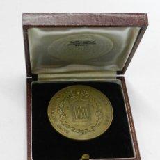 Medallas históricas: MEDALLA DEL 75 ANIVERSARIO 1886 / 1962, CAMARA OFICIAL DE COMERCIO DE MADRID, REALIZADA EN BRONCE, E. Lote 44069559