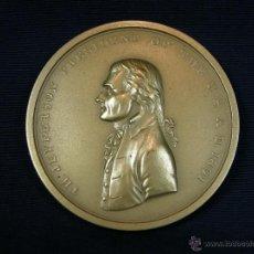 Medallas históricas: MEDALLA BRONCE AMERICANA PRESIDENTE USA EEUU PEACE AND FRIENDSHIP TH JEFFERSON 1801. Lote 44150873