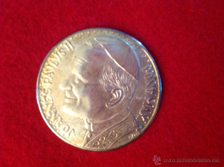 Medallas históricas: Medalla Juan Pablo II, Plaza del Vaticano preciosa, 35 mm., - Foto 2 - 44200580