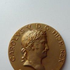 Medallas históricas: (JX-1517)MEDALLA CONMEMORATIVA,CARLOUS V,D.G.HISP.REX.1833-1843,PRIMERAS GUERRAS CARLISTAS. Lote 44286967