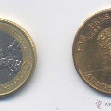 Medallas históricas: MEDALLA-ESTADOS UNIDOS- ANDREW JACKSON- 7º PRESIDENTE DE U.S.A. Lote 44794982