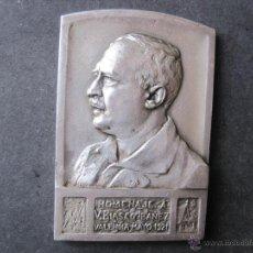 Medallas históricas: MEDALLA DE PLATA OMENAGE A VICENTE BLASCO IBAÑEZ -VALENCIA-1921.. Lote 45652729