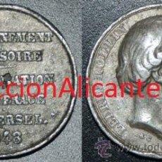 Medallas históricas: SUFRAGIO UNIVERSAL - MEDALLA ORIGINAL1848 - LEDRU-ROLLIN - LOTE TAL FOTO - FRANCIA. Lote 45854020