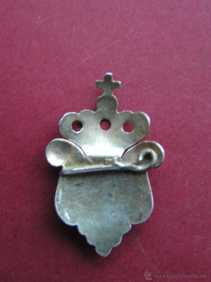 Medallas históricas: RELICARIO DE SOLAPA. PLATA BAÑADA EN ORO. SIGLO XVIII-XIX. - Foto 5 - 46295197