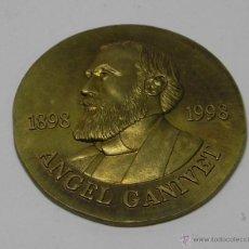 Medallas históricas: MEDALLA DEL CENTENARIO DE LA MUERTE DE ANGEL GAVINET, ESCRITOR Y DIPLOMÁTICO ESPAÑOL, PRECURSOR SIMB. Lote 47339869