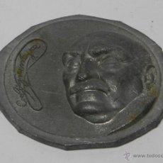 Medallas históricas: MEDALLA DEL PROFESOR DON CARLOS RODRÍGUEZ LÓPEZ-NEYRA DE GORGOT, MÁS CONOCIDO COMO EL PROFESOR LÓPEZ. Lote 47340106