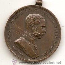 Medallas históricas: AUSTRIA HUNGRÍA. MEDALLA ANTIGUA DEL EMPERADOR FRANCISCO JOSÉ I. Lote 147338045