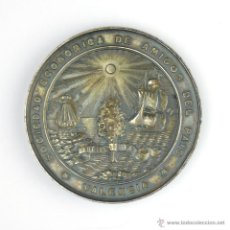 Medallas históricas: MEDALLA-SOCIEDAD ECONÓMICA DE AMIGOS DEL PAÍS-VALENCIA-64 MM-1883-ESCULTOR: PABLO VIDAL. Lote 47530254