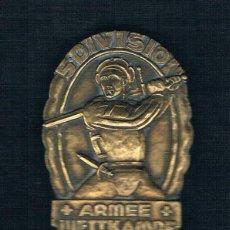 Medallas históricas: 5 DIVISION ARMEE WETTKAMPF. Lote 47539616