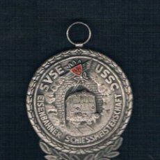 Medallas históricas: SVSE USSC EISENBAHNER SCHIESSMEISTERSCHAFT. Lote 47554283