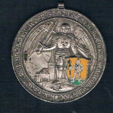Medallas históricas: GEMEINDE SDIRINGEN KIRCHENGRUNDUNG 1290 KIRCHENDATRON. Lote 47555105